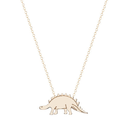 Stegosaurus Dinosaur Necklace