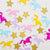 100pcs/lot Rainbow Unicorn with Stars Confetti Party Decoration