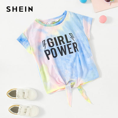 """ Girl Power "" Tie-Dye T-Shirt - Well Pick Review"