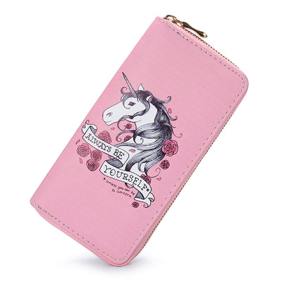 Pink Unicorn Wallet