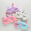 Unicorn Plush Sleeping Eyes Mask