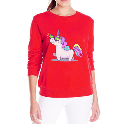 Unicorn Fleece Sweatshirt