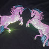 Holographic Sequin Unicorn Skirt