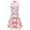 2 Styles Flamingo Cactus Summer Dress - Well Pick Review
