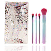 4Pcs/Set Colorful Makeup Brushes With Bag - Well Pick Review