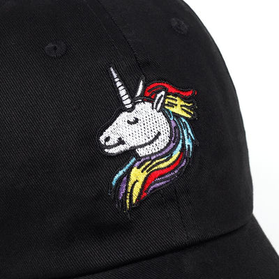 Unicorn Embroidered Baseball Cap