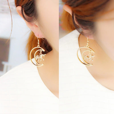 Unicorn Moon Earring