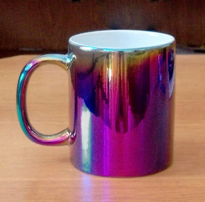 Iridescent Rainbow Mug