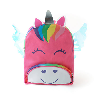 Happy Unicorn Wings Kids Backpack