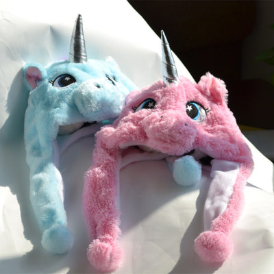 Plush Unicorn Hat