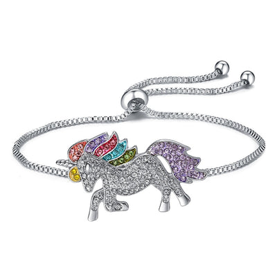 Crystal Rainbow Unicorn Bracelet & Necklace - Well Pick Review
