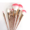 Unicorn Diamond Glitter Makeup Brush Set