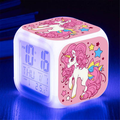 Glowing Unicorn Alarm Clock
