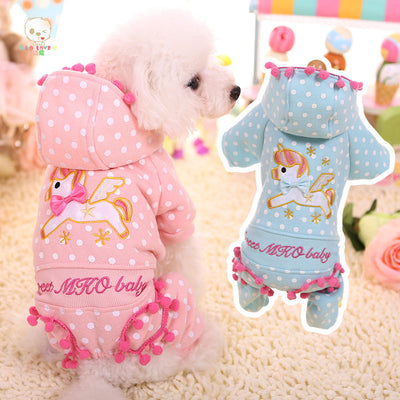 Embroidery Unicorn Pet Jumpsuits - Well Pick Review