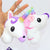 Unicorn Head Plush Keychain