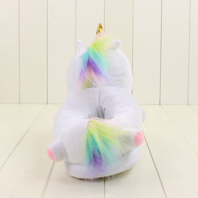 Kids Magical Unicorn Glowing Slippers