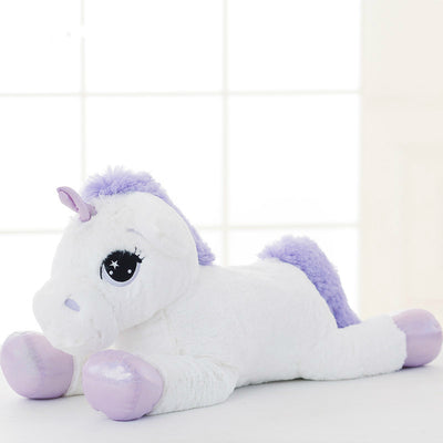 65cm Pink White Unicorn Fluffy Plush Toy - Well Pick Review