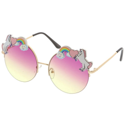 Unicorn Colored Lens Sunglasses
