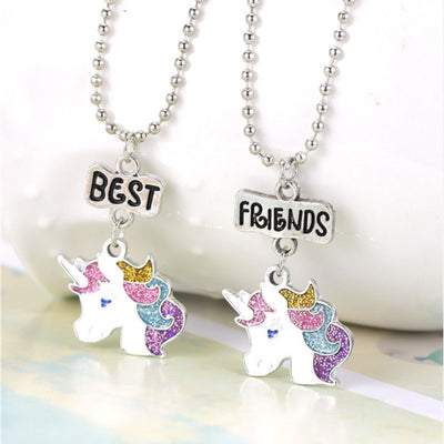 Unicorn Best Friends Necklaces