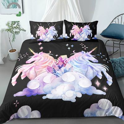 3D Unicorn Watercolor Bedding Set - Well Pick Review