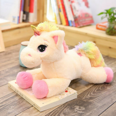 Big Rainbow Fluffy Unicorn Plush Toy - Well Pick Review
