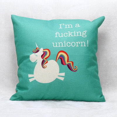 """I'm a Fucking Unicorn"" Pillow Case - Well Pick Review"