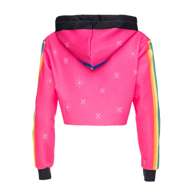 Unicorn Rainbow Pink Crop Tops