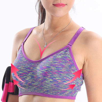 Seamless Adjustable Racerback Sports Bras
