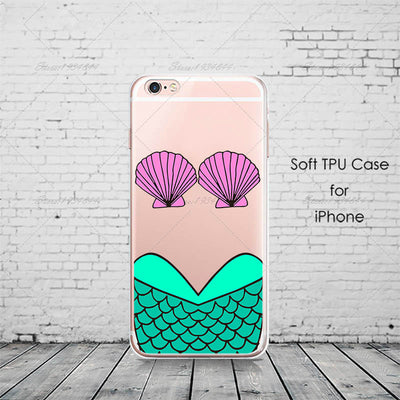 Graffiti Mermaid iPhone Case