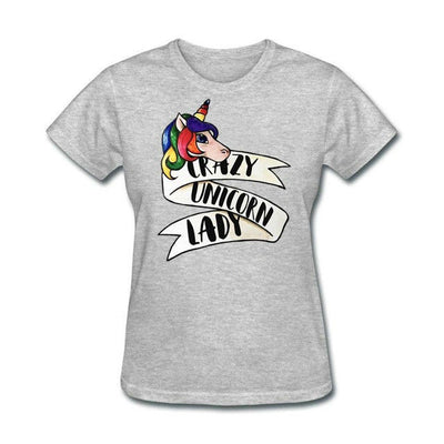 Crazy Unicorn Lady Graphic T-Shirt - Well Pick Review