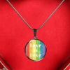 Rainbow Love Is Love Bangle & Necklace