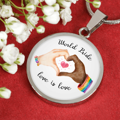 World Pride, Love Is Love Bangle & Necklace