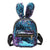 Cute Rabbit Ears Sequins Backpack