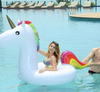 Inflatable Unicorn Swimming Ring Pool Float