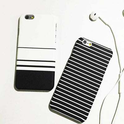 Fashion Stripe Hard Phone Cases