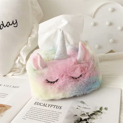 Super Fluffy Unicorn Tissue Box