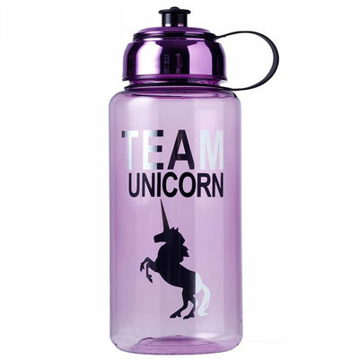1000ml Silver Unicorn Purple Bottle - Well Pick Review