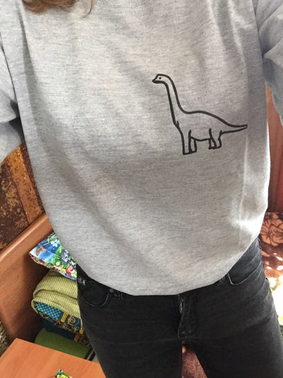 Apatosaurus Dinosaur Print T-shirt - Well Pick Review