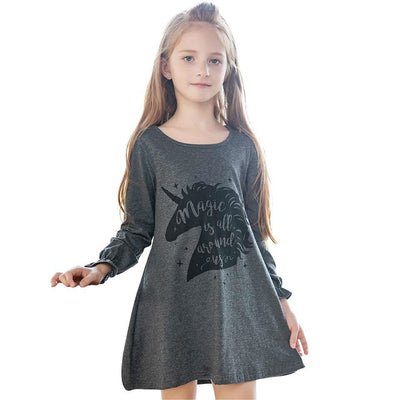 Kids Girl Unicorn Girls Dress