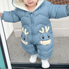 Winter Baby Reindeer Jumpsuit