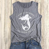 Mermaid Sleeveless T-shirt