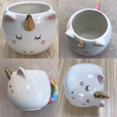 Unicorn Golden Horn Mug