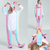 Majestic Rainbow Unicorn Onesie