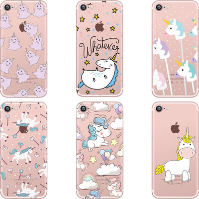 'Happy Unicorn Riders' Transparent iPhone Case - Well Pick Review