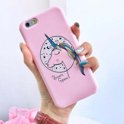 Pink Unicorn/Unimermaid Phone Case