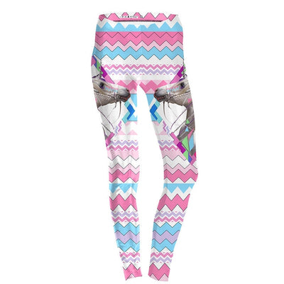 Diamond Rainbow Unicorn Leggings