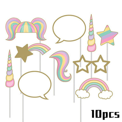 Unicorn Pops & Photo Frame Party Supplies
