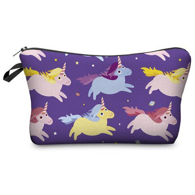 Unicorns Cosmetic Bag