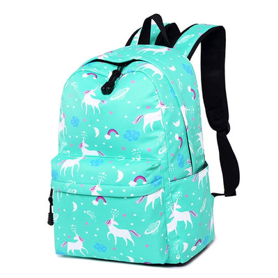 Unicorn Pattern Backpack