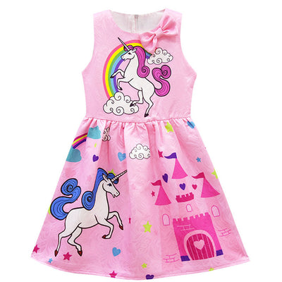 Colorful Baby Girls Unicorn Dress - Well Pick Review